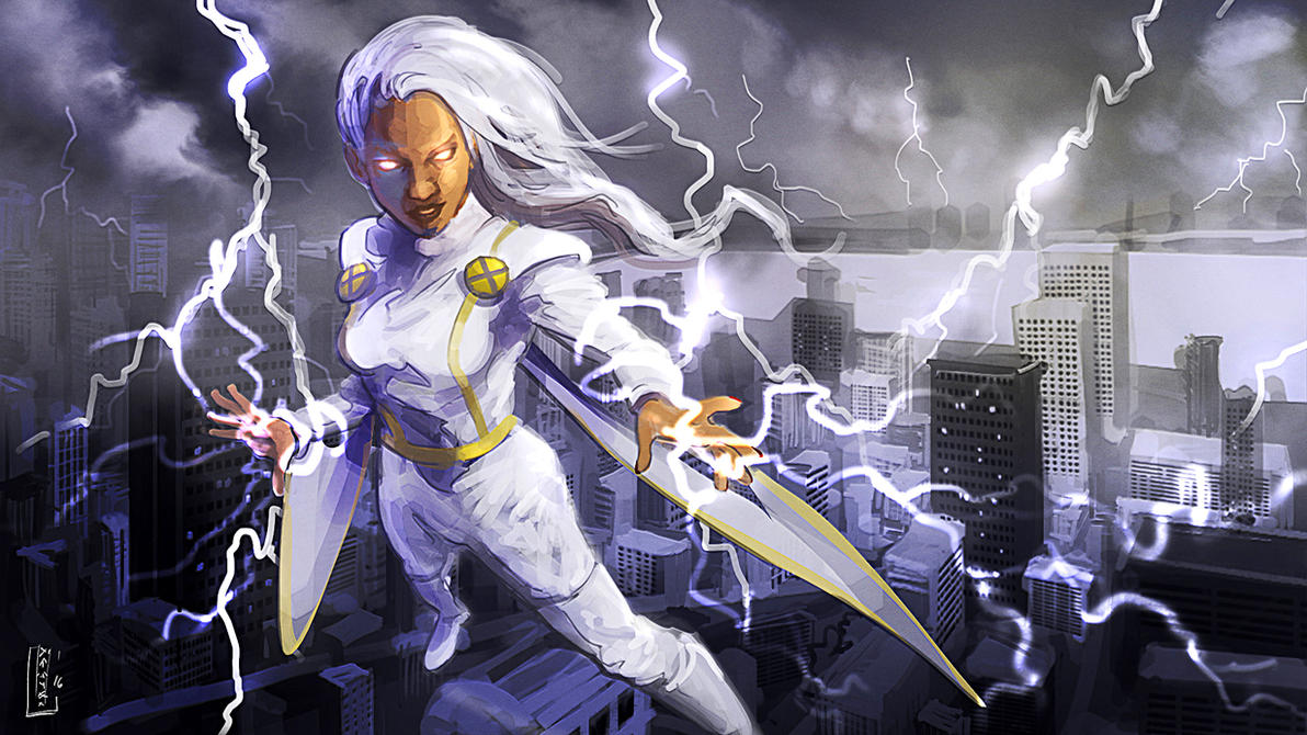 Storm by kusanagimotoko100