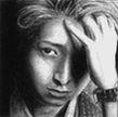 Ohno Satoshi miniature portrait by Yuka13
