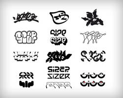 Mr Size Logotypes by sizer92
