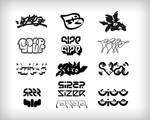 Mr Size Logotypes