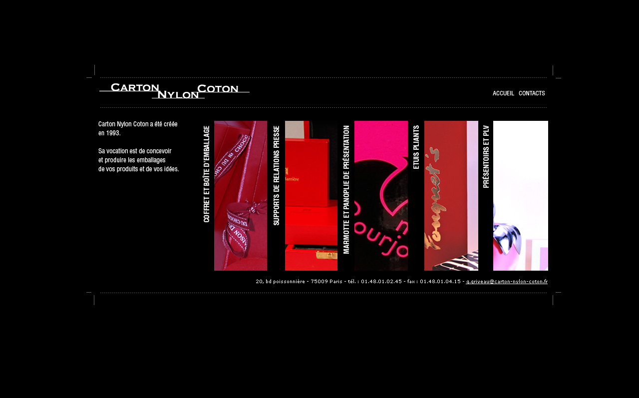 Carton Nylon Coton Website by sizer92