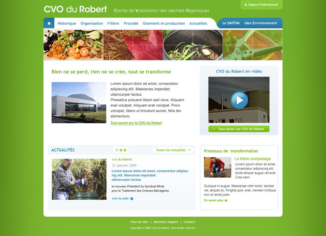 CVO Webdesign by sizer92