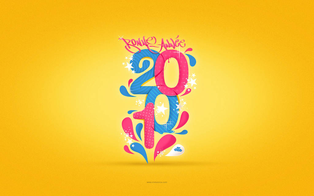 2010 imac wallpaper by sizer92