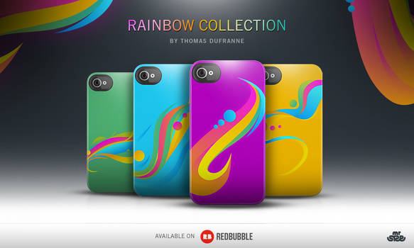 Rainbow Collection - Iphone Case