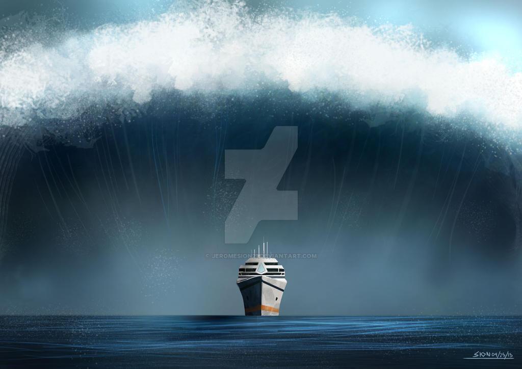 tsunami by jeromesion21