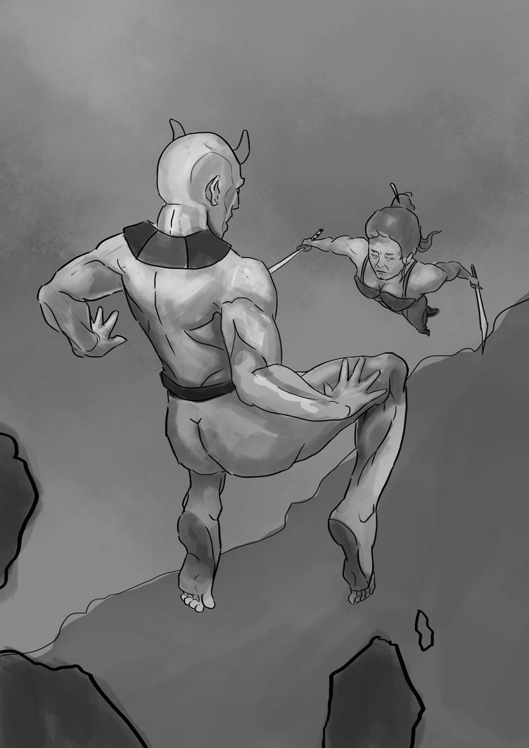 encounter wip by jeromesion21