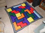 Tetris afghan.