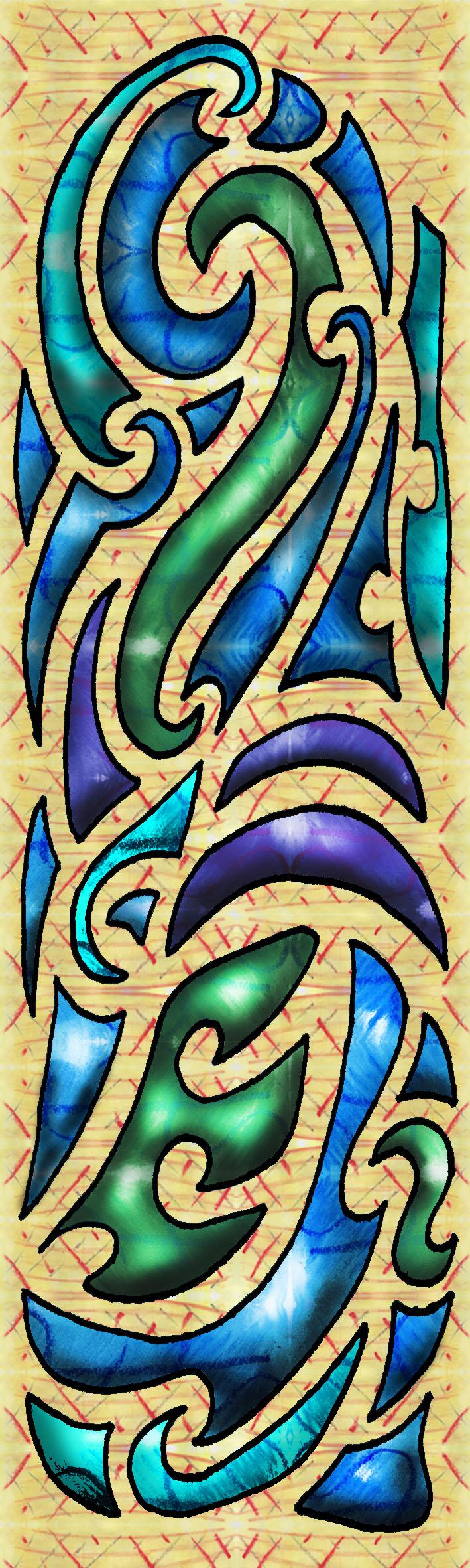 maori pattern deviantart cultural