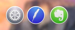 OS X Yosemite Style Icons