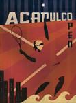 Acapulco Tennis Poster