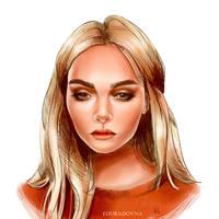 Daria Kaplan by eduradovna