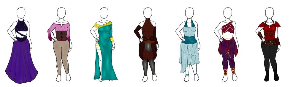Stasia's Wardrobe by Jazzery