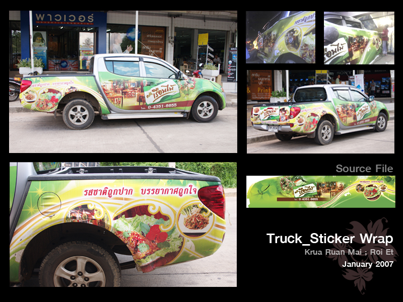 Truck Sticker Designs