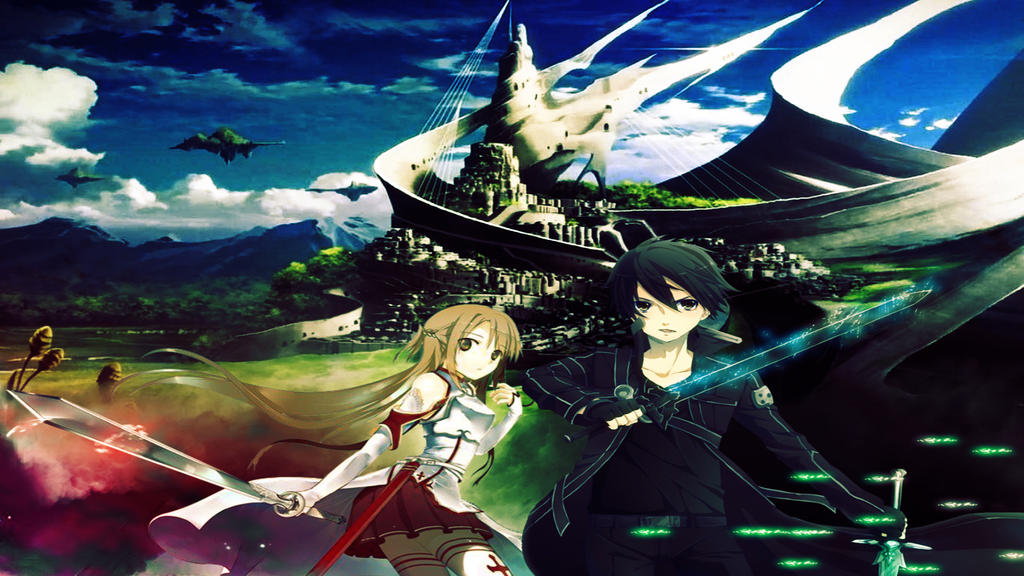 Sword Art Online Wallpaper 1920x1080 By Drawing Me Closer On