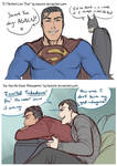 Clark and Bruce Doodles