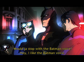 Batman Voice by Harseik