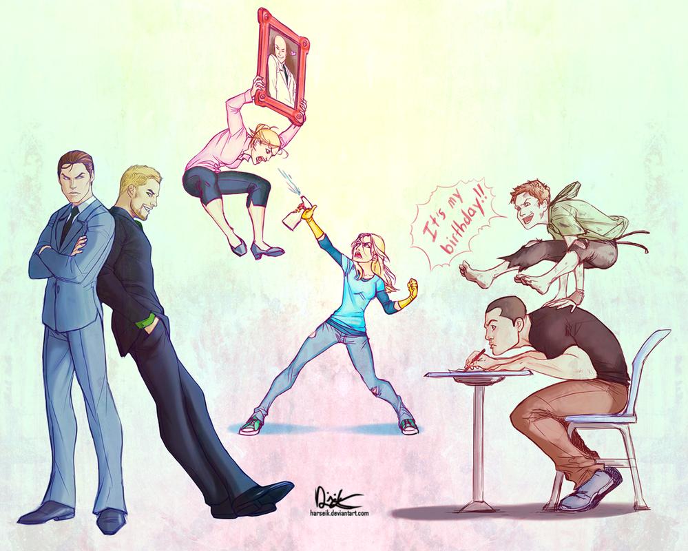 Stormstruck Birthday Collage by Harseik