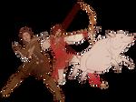 Gift Art - Battle Pig