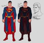 Superman Redesign + Stealth Rendition