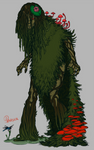 Giftart - Gene the Swamp Thing