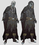 Commish - Drow Warlock, Darius