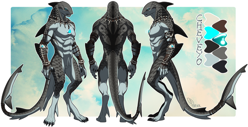 Cheveyo Character Sheet - Commission