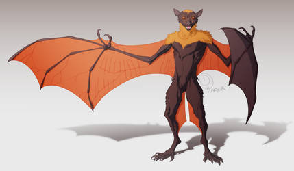 Tallon the Fruit Bat Commission