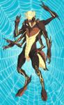 Ma'tharak the Skeleton Tarantula - Commission