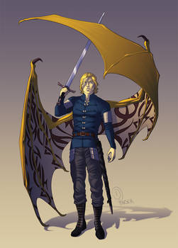 Saber the Dragon Prince - Commission