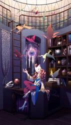 Whistler's Magic Shop - Commission