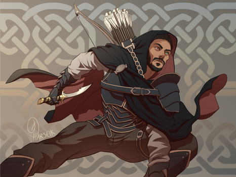 The Roguish Rolen Falone - Commission