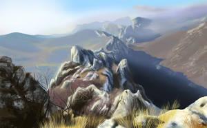 Study - Mountains