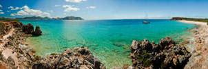 Tintamarre and St. Maarten by silverdragon