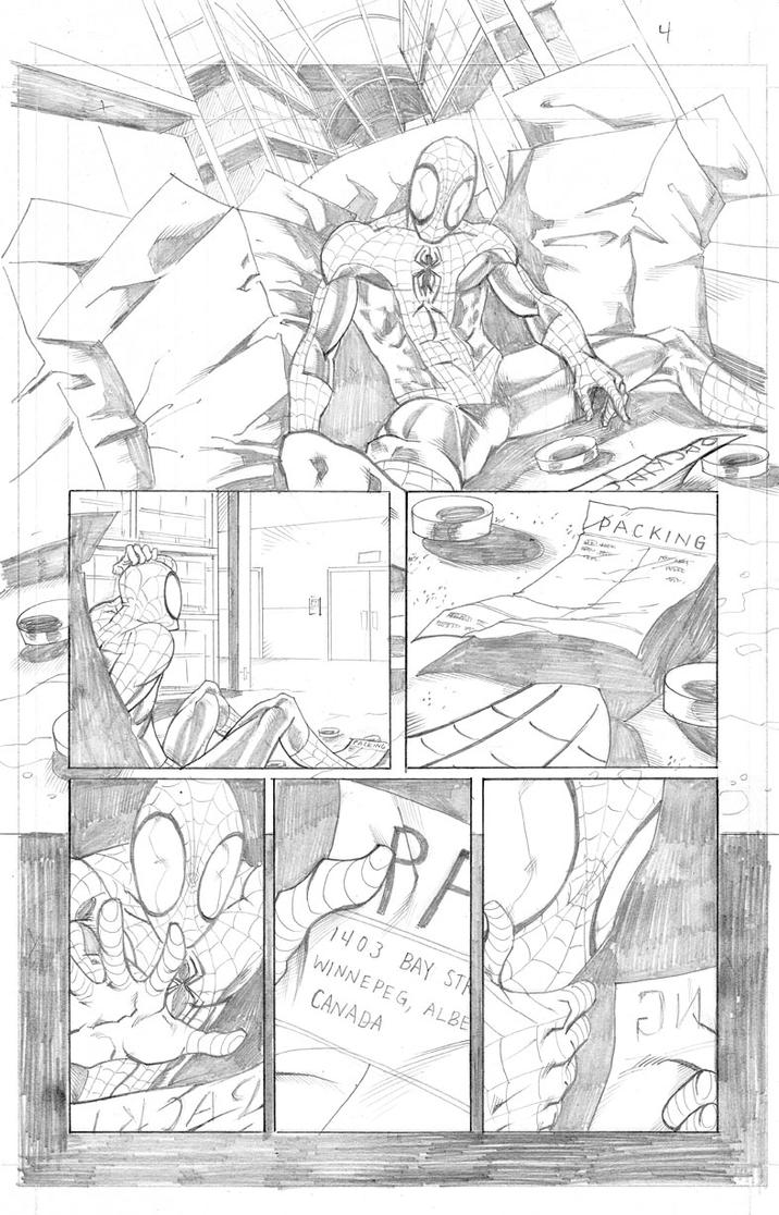 Spiderman Page 4 by thecreatorhd