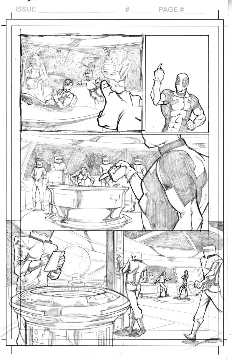 Deadpool Page 3 by thecreatorhd