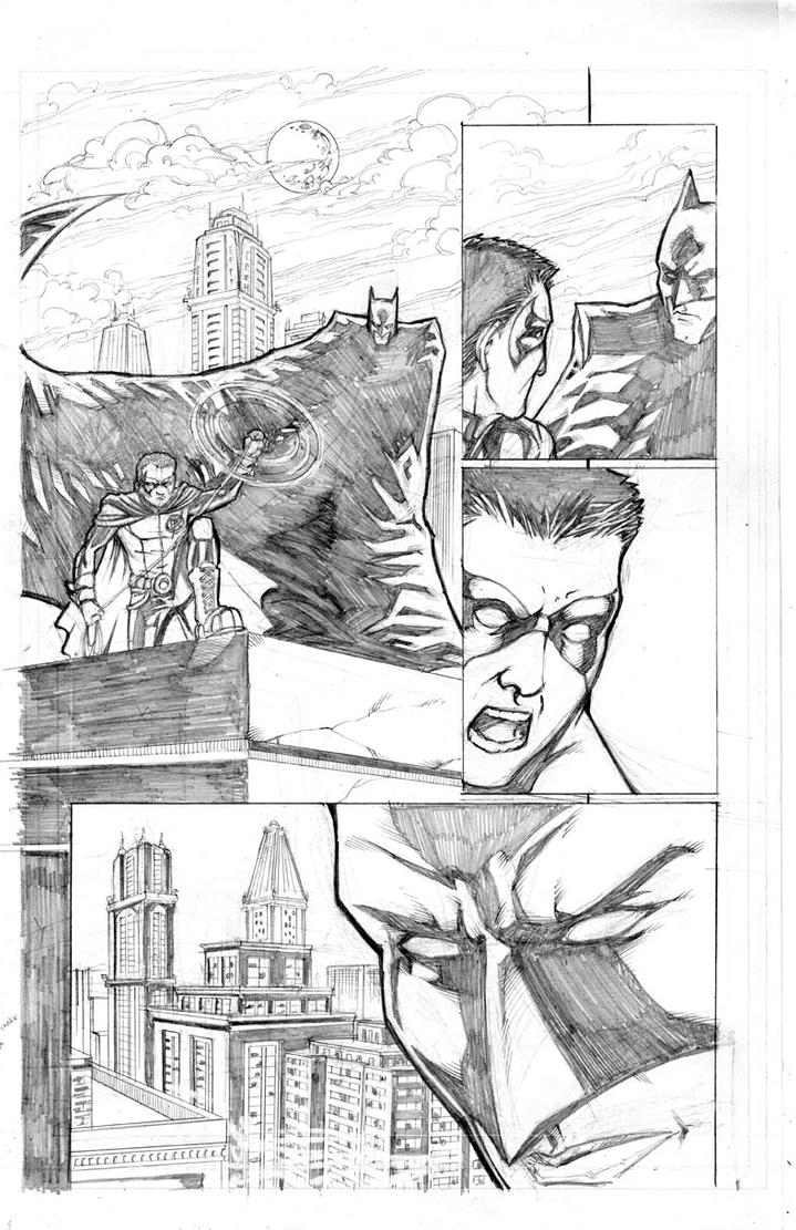 Detective Comics 738 Page 7 by thecreatorhd
