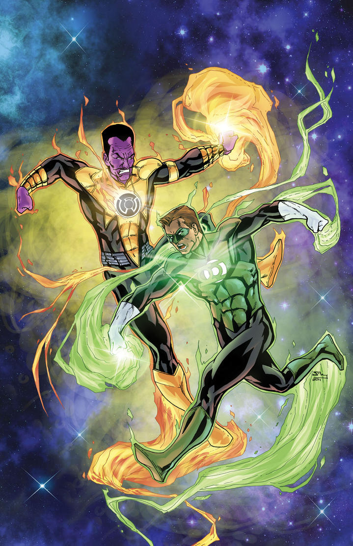 Green Lantern vs Sinestro PH by thecreatorhd