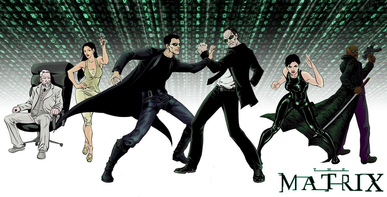 The Matrix PH by thecreatorhd