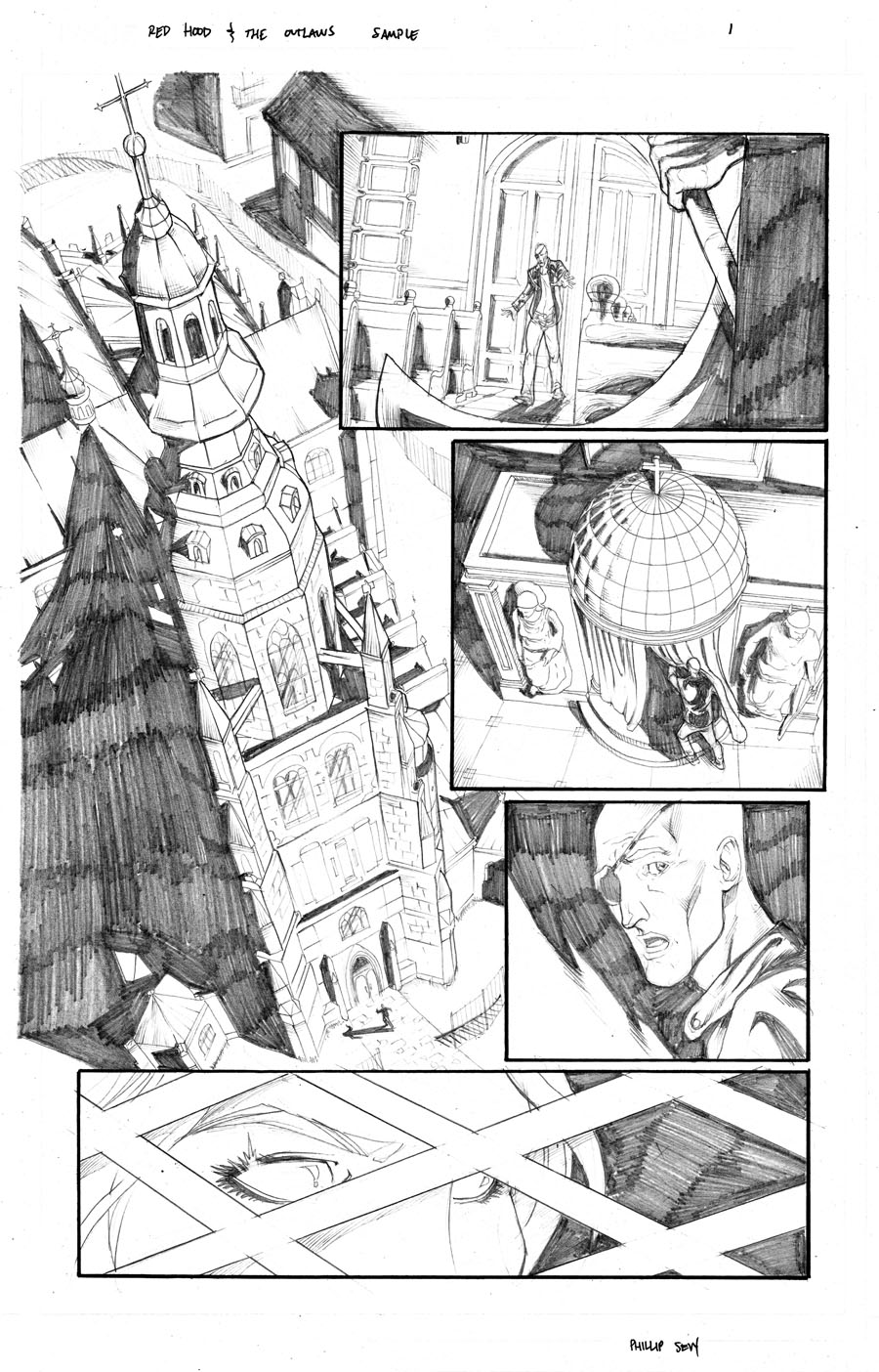 Red Hood and the Outlaws Page 1 by thecreatorhd