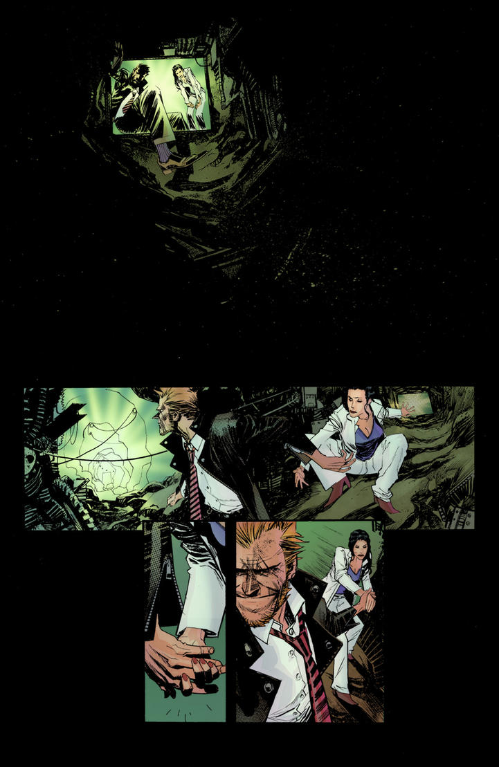 SGM Hellblazer Colors by thecreatorhd