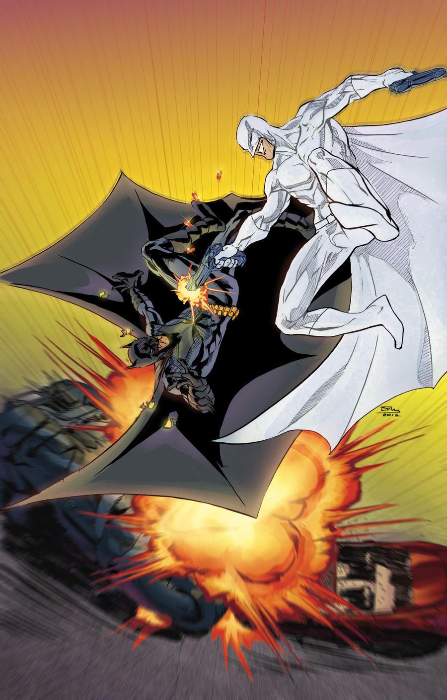 Batman vs Nemesis TLID by thecreatorhd