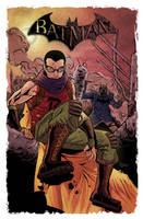 Batman and Robin Post Apocalyptic TLID by thecreatorhd