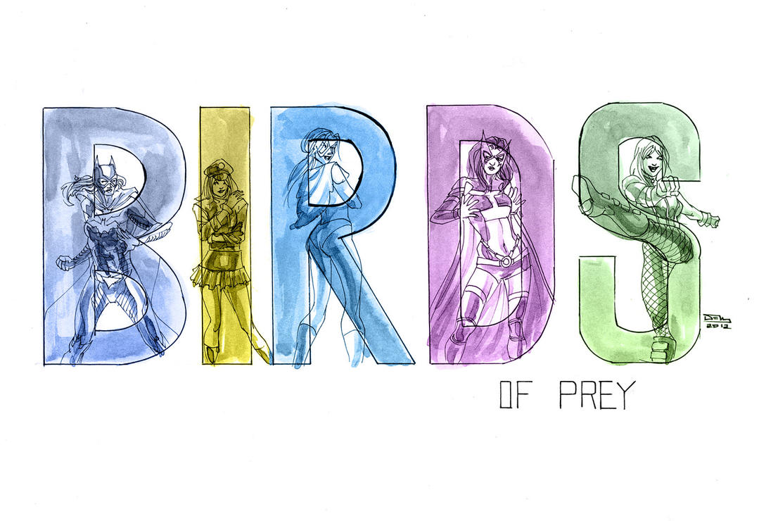 Birds of Prey Spice Girls Style by thecreatorhd