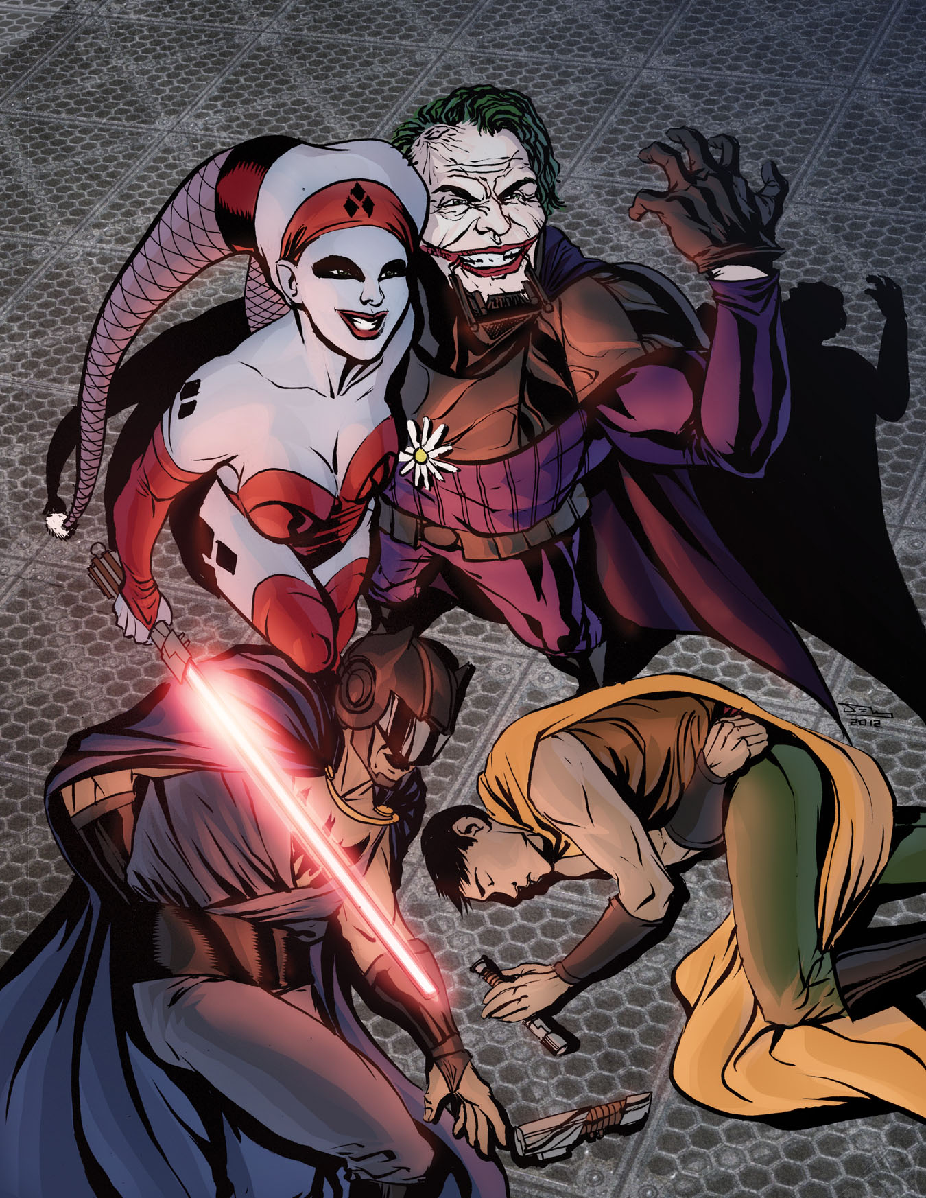 Batman in Star Wars by thecreatorhd