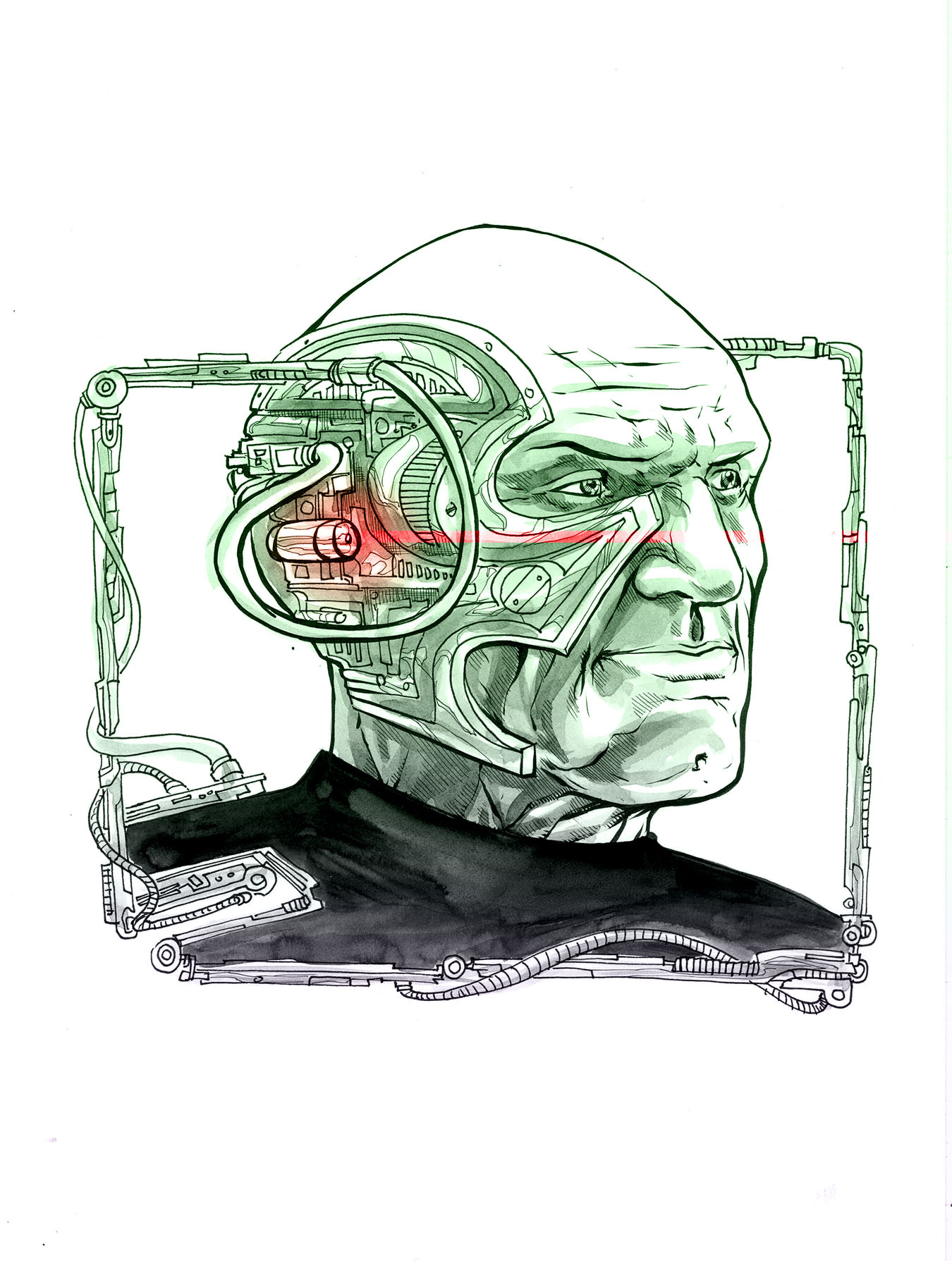 Locutus of Borg PH by thecreatorhd