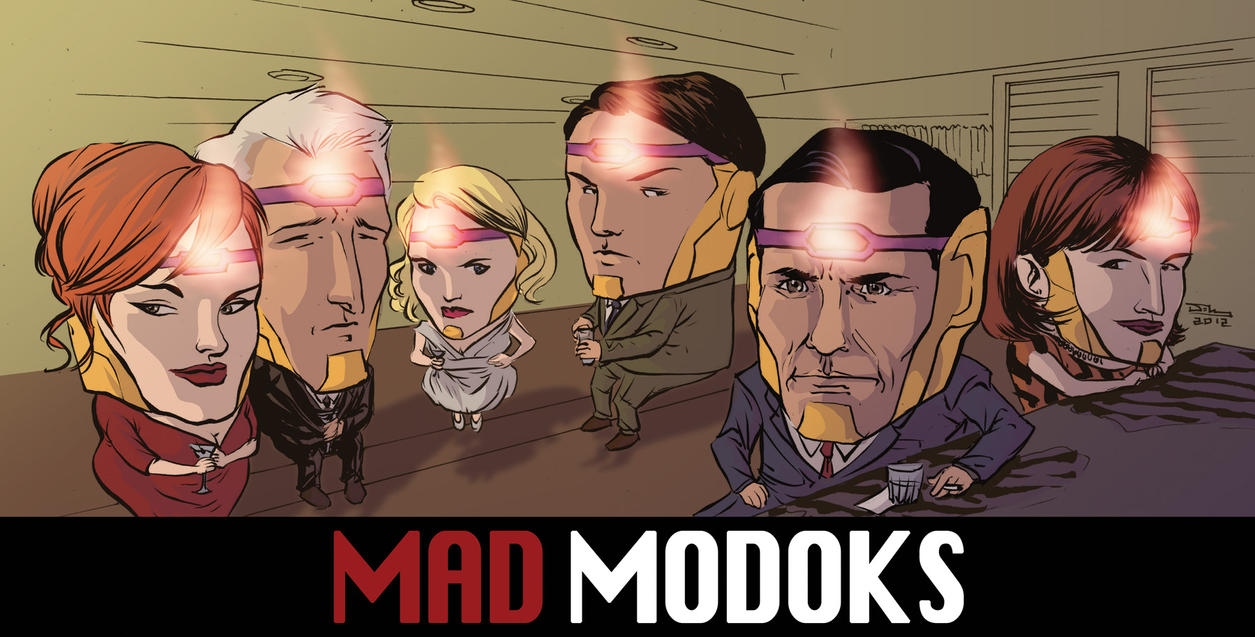 Mad MODOKs by thecreatorhd