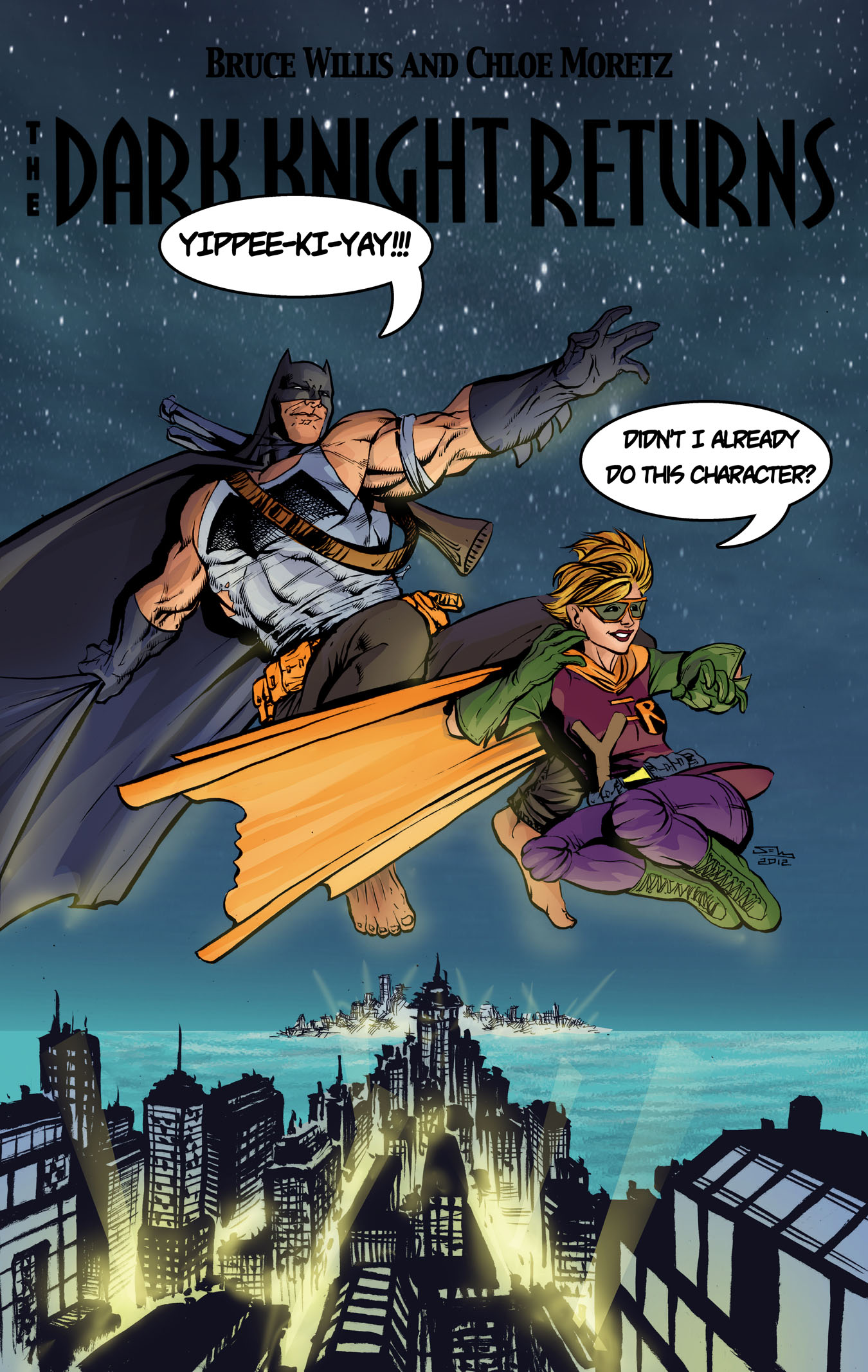 Batman DKR The Movie TLID by thecreatorhd