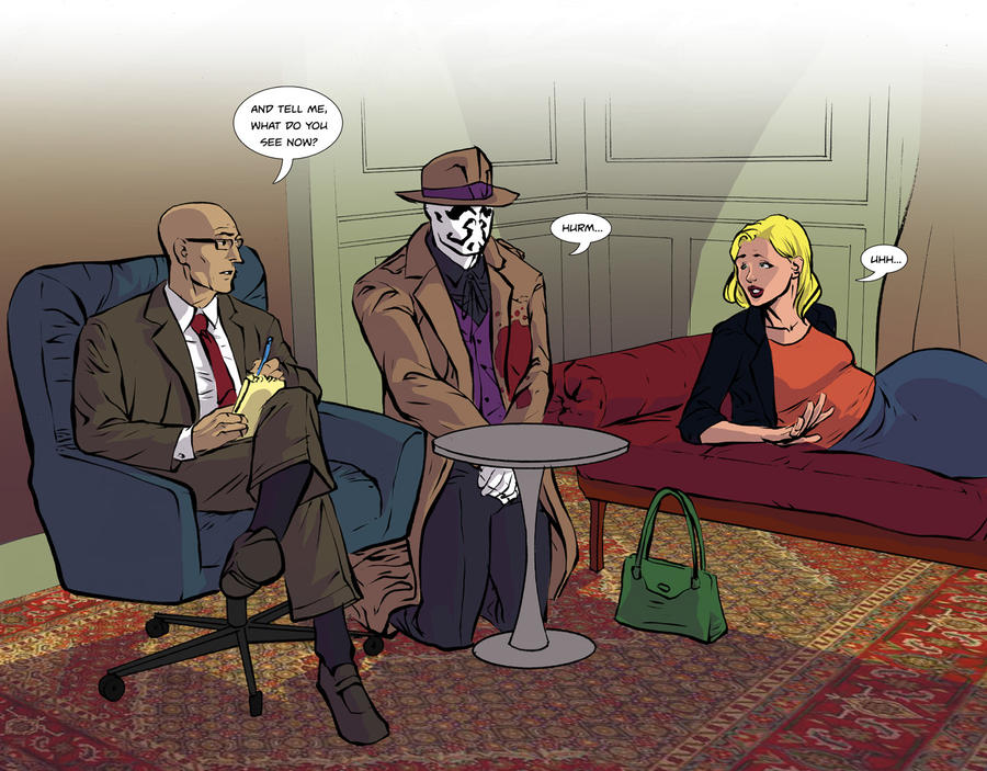 Rorschach Test by thecreatorhd