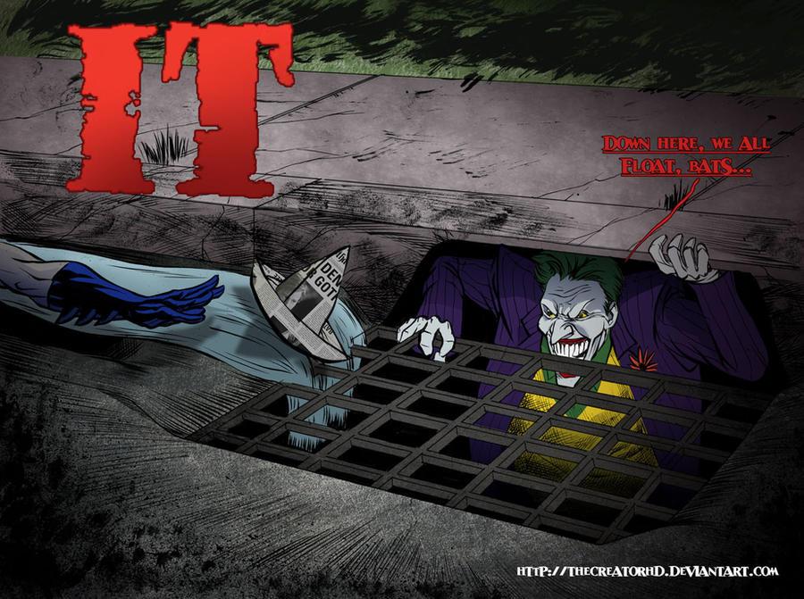 Joker in IT Color by thecreatorhd