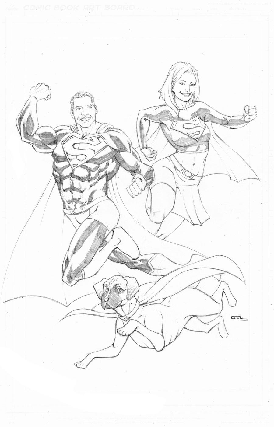The Superman Newey Family by thecreatorhd